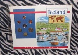 Coins of the World Iceland (Set of 7) Mounted