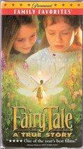 Fairy Tale: A True Story (VHS Movie) Peter O'Toole, Harvey Keitel, 1998 VHS
