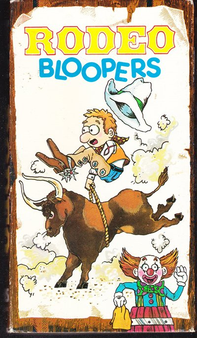 Rodeo Bloopers (VHS Movie) 1990