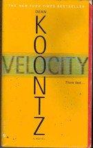 Velocity by Dean Koontz (paperback) 2005