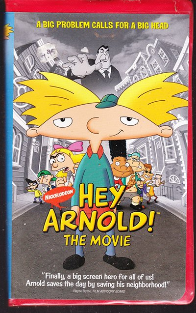 Hey Arnold: The Movie (VHS) Nickelodeon Animation