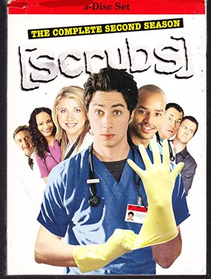 Scrubs: The Complete Second Season DVD (NEW)