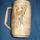 Collectible Ceramic Deer Stein / Mug, circa 1989