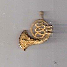 Vintage Tuba Golden Pin from Mamselle, circa 1950's