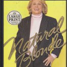 Natural Blonde by Liz Smith (hardback) Large Print