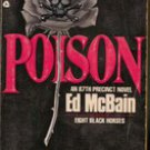 Poison A 87th Precinct Novel by Ed McBain, 1988