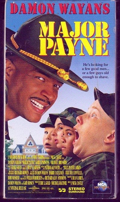 Major Pain (Damon Wayans) VHS Movie