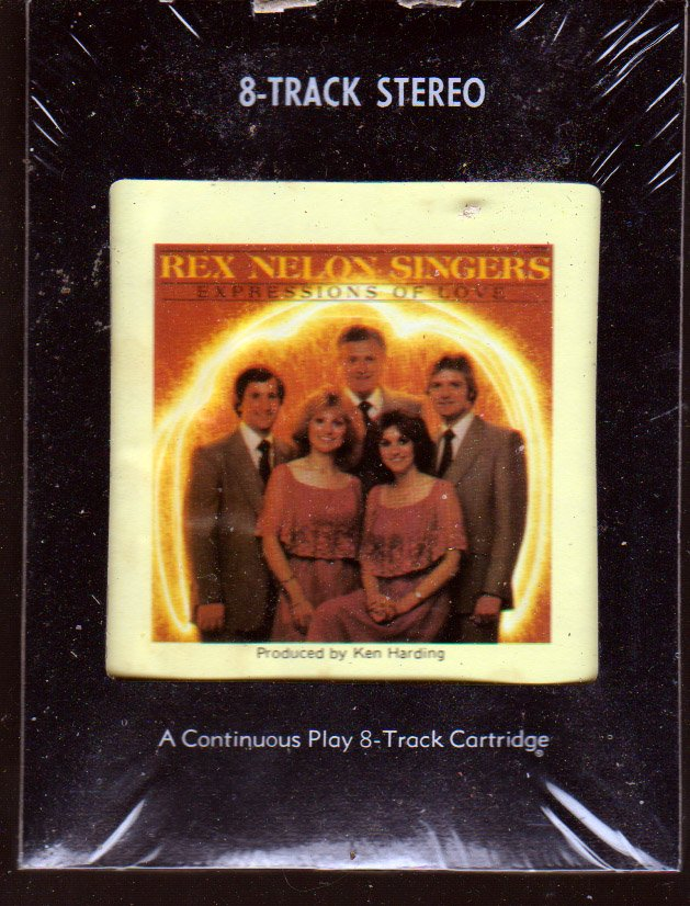 Rex Nelson Singers - Expressions of Love (1980) 8-Track Cartridge (New)