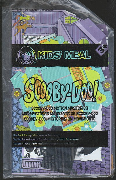 Wendy's Scooby-Doo Motion Mysteries Kids Meal Toy NIP Shaggy Mystery Machine