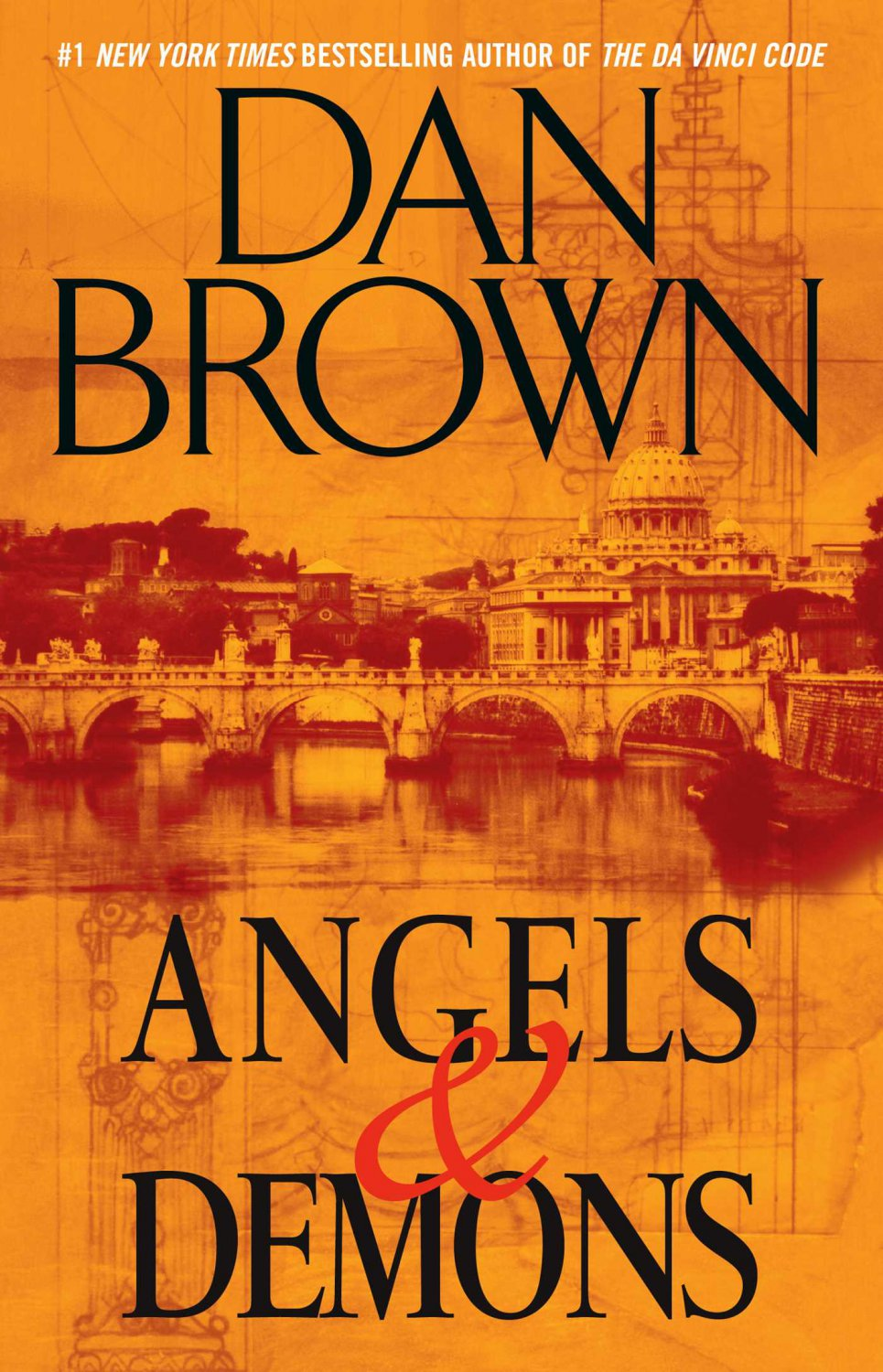 Angels & Demons by Dan Brown (First Edition-Author Signed)