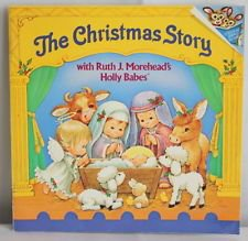 The Christmas Story with Ruth Morehead's Holly babies (paperback)