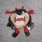 Vintage Tazmanian Devil Trick or Treat Holloween Plush Toy (Looney Tunes)