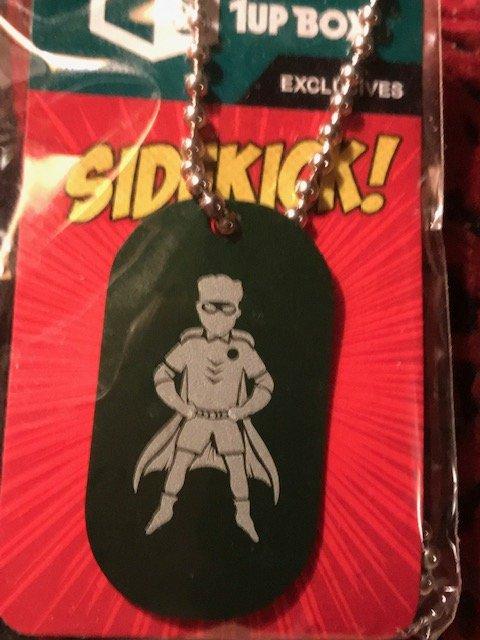 Sidekick Robin Dog Tag