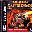 Ballerburg Castle Chaos - Playstation 1 Video Game - COMPLETE  (combine shipping)