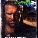 WWE SUMMERSLAM 2007 DVD - COMPLETE  (combine shipping)