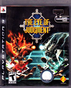 The Eye of Judgment - Playstation 3 Video Game - COMPLETE * combined shipping