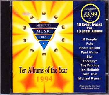 Ten Albums of the Year 1994 CD - COMPLETE   (combine shipping)