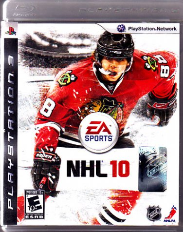 NHL 10 (Sony PlayStation 3, 2009) Video Game - COMPLETE combine shipping