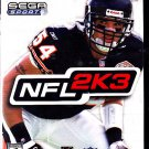 NFL 2K3 - Xbox video game - COMPLETE   (combine shipping)