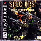 Spec Ops - Stealth Patrol - Playstation 1 Video Game - COMPLETE (combine shipping)
