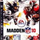 Madden NFL 10 - Playstation 3 video game