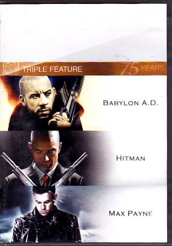 Triple Feature: Babylon A.D., Hitman, Max Payne DVD - COMPLETE (combine shipping)