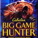 Cabela's - Big Game Hunter 2005 - PlayStation 2 Video Game * combined shipping