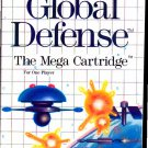 Global Defense (1987) - Sega Master System video game - COMPLETE  (combine shipping)