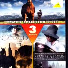 The Red Fury & Seven Alone & Against a Crooked Sky (DVD, 2010) - COMPLETE (combine shipping)