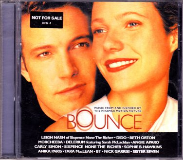 Bounce Original Soundtrack - Various Artists CD, Nov-2000 - COMPLETE * combined shipping