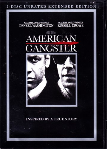 American Gangster DVD, 2008, 2-Disc Set - COMPLETE * combined shipping