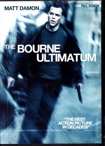 The Bourne Ultimatum DVD, 2007, Full Frame - COMPLETE * combined shipping