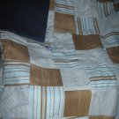 Handmade Baby Quilt Patchwork Nursing, Carseat Blanket #016