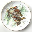 Tirschenreuth Firecrest WWF World Wildlife Fund Porcelain Plate 1986