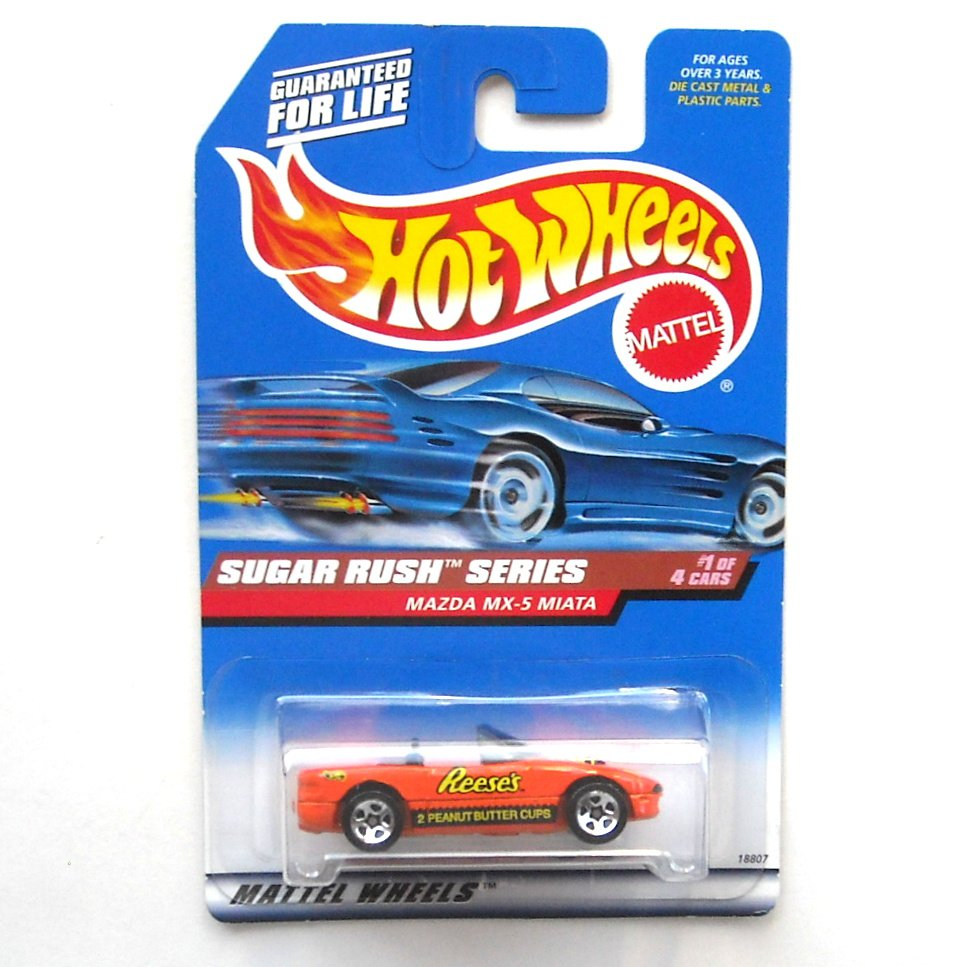 Hot Wheels Reeses Mazda Mx5 Miata Sugar Rush Series