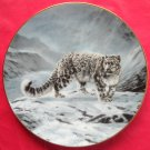 Fleeting Encounter WS George Worlds Most Magnificent Cats Porcelain Plate 1991