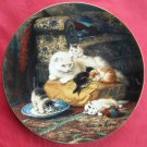 Daydreams WS George The Victorian Cat Porcelain Plate 1991