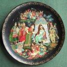 Russian Legends Golden Cockerel Vintage Porcelain Plate