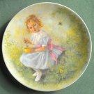 John Mc Clelland Mother Goose Little Miss Muffet Reco 352 XK Plate 1981