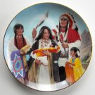 Naming Ceremony Proud Indian Families Kenneth Freeman Hamilton Collection Plate 1991