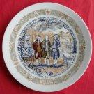 Limoges France Premiere Edition Benjamin Franklin Plate 1974