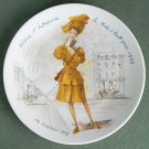Limoges France Premiere Edition Women Of The Century Helene 1943 Plate