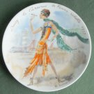 Limoges France Premiere Edition Women Of The Century  Daisy 1925 Plate