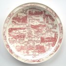 Vernon Kilns California Shasta Cascade Tourist Souvenirs Plate