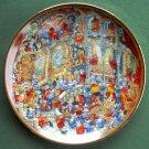 Holy Cats Bill Bell Cat Kitten Franklin Mint Fine Porcelain Plate