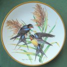 Roger Tory Peterson Barn Swallow Georges Boyer Fine Porcelain Limoges Plate 1981