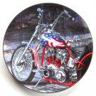 Brotherhood of Honor Easyriders Marc Lacourciere Hamilton Collection Plate 1997