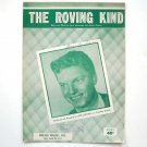The Roving Kind Recorded By Guy Mitchell 1950 Vintage Sheet Music