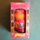 Lion King Disney Classic Coca Cola Burger King Plastic Tumbler 1994