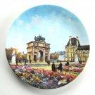Limoges Louis Dali L'Arc De Triomphe Du Carrousel D'Arceau Porcelain Plate